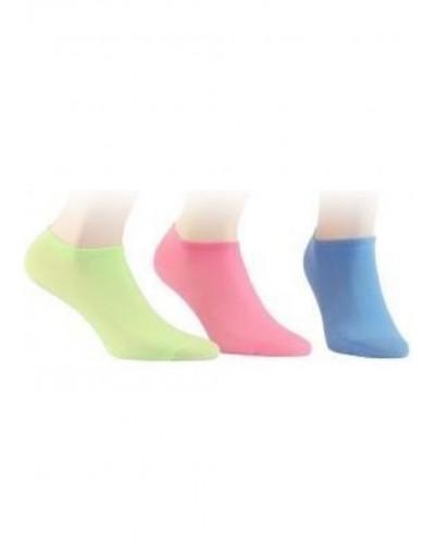 Členkové ponožky z tenkej bavlny