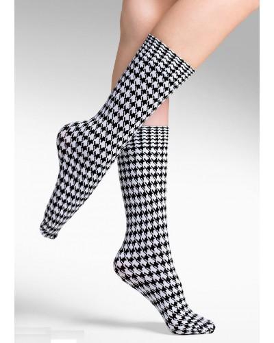 Dámske kárované ponožky