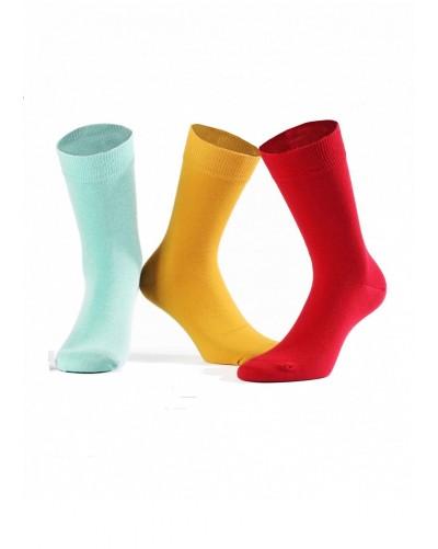 Bavlnené pánske ponožky vo farbách