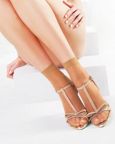 Silonkové ponožky Sophie 2 páry bez zvýraznenej špičky