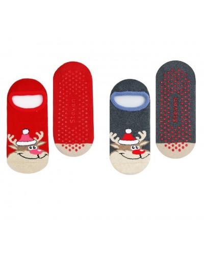 Protišmykové vianočné ponožky