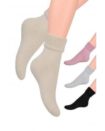 Froté ponožky s voľným lemom