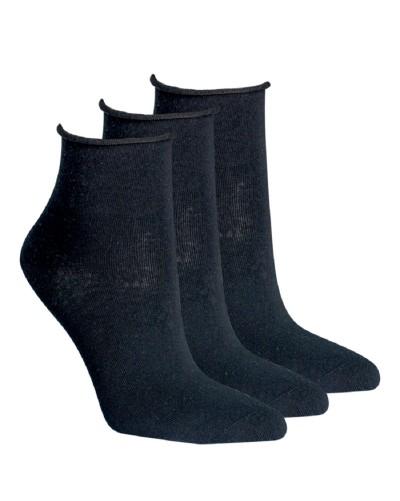 Členkové ponožky bez gumičiek