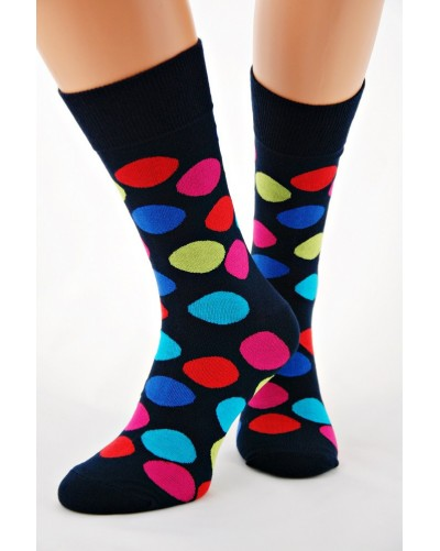 Bambusové ponožky s bodkami