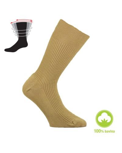 Zdravotné ponožky zo 100% bavlny