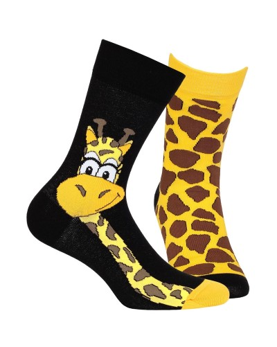 """Ponožky funky """"žirafa"""" - KAŽDÁ INÁ"""