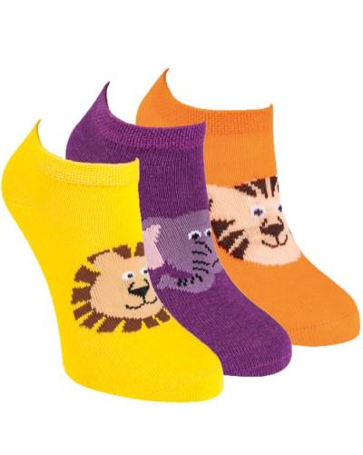 Detské členkové ponožky so zvieratkom