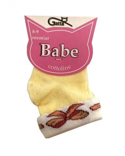 Ponožky so vzorom mašličky pre najmenších