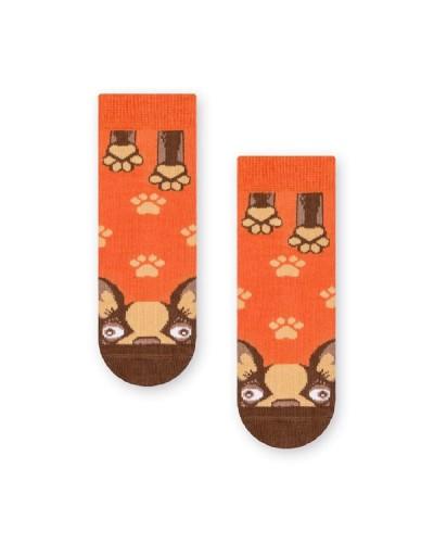Detské ponožky so šteniatkom