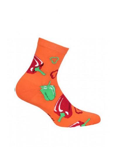 Dámske ponožky s paprikou