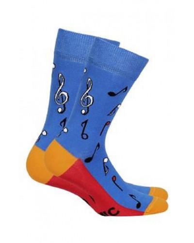 Pánske ponožky noty