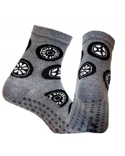Detské ponožky s protišmykovým chodidlom Kolesá