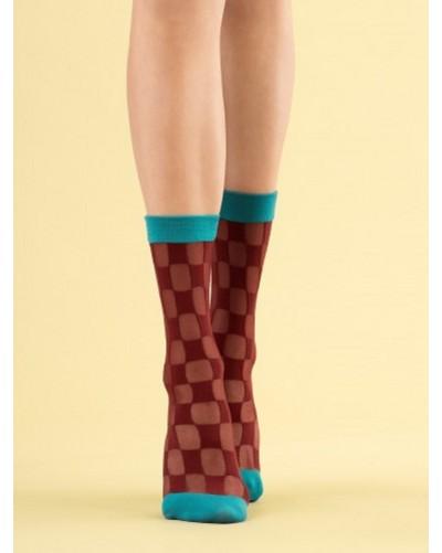 Silonkové ponožky Check Twice