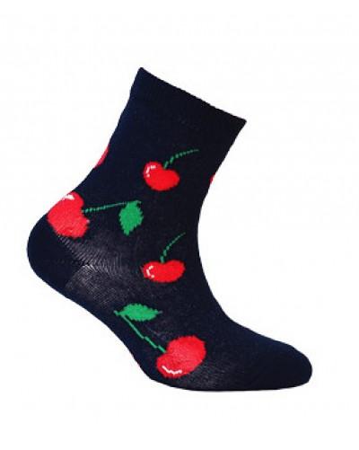 Detské ponožky s čerešňami