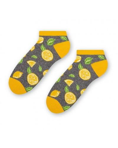 Dámske členkové ponožky Citrón