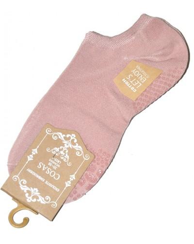 Bavlnené ponožky s protišmykovou šľapou