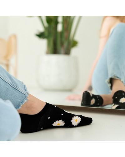Členkové ponožky s margarétkou